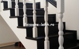 Balustrada din lemn de interior 07