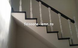 Balustrada din lemn de interior 11