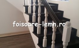 Balustrada din lemn de interior 14