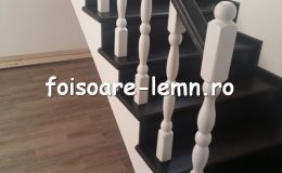 Balustrada din lemn de interior 15
