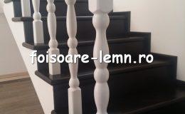 Balustrada din lemn de interior 16