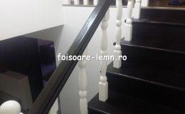 Balustrada din lemn de interior 19