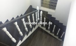Balustrada din lemn de interior 24