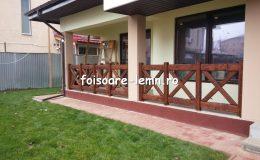 Balustrade din lemn pentru terase 06