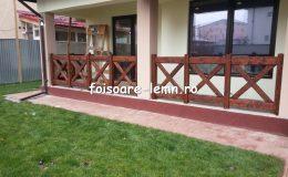 Balustrade din lemn pentru terase 12