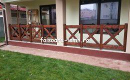 Balustrade din lemn pentru terase 13