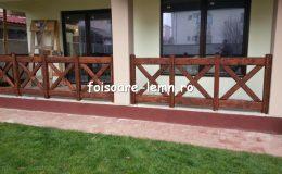 Balustrade din lemn pentru terase 14