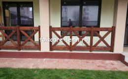 Balustrade din lemn pentru terase 15
