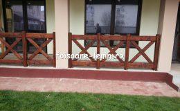 Balustrade din lemn pentru terase 16