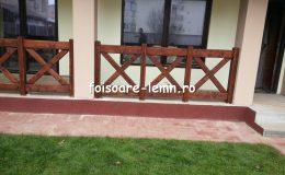 Balustrade din lemn pentru terase 17