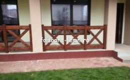 Balustrade din lemn pentru terase 18