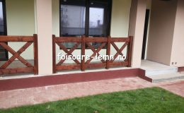 Balustrade din lemn pentru terase 19