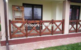 Balustrade din lemn pentru terase 24