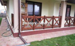 Balustrade din lemn pentru terase 25