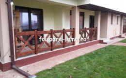 Balustrade din lemn pentru terase 26