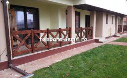 Balustrade din lemn pentru terase 27