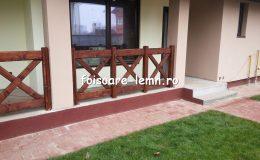 Balustrade din lemn pentru terase 29