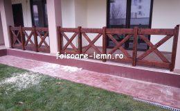 Balustrade din lemn pentru terase 31