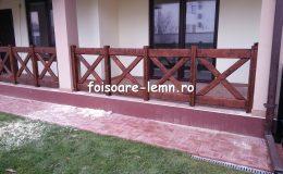 Balustrade din lemn pentru terase 32