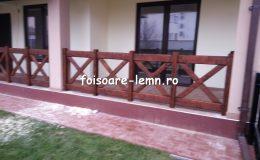 Balustrade din lemn pentru terase 36