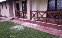 Balustrade din lemn pentru terase 37