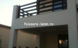 Balustrade lemn balcon 02