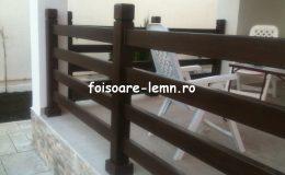 Balustrade lemn balcon 03