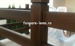 Balustrade lemn balcon 05