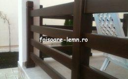 Balustrade lemn balcon 06