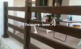 Balustrade lemn balcon 07