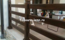 Balustrade lemn balcon 08
