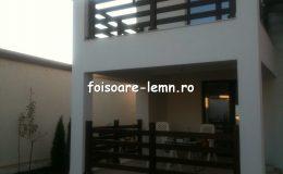 Balustrade lemn balcon 09