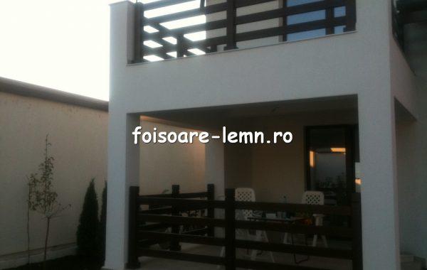 Balustrade lemn balcon