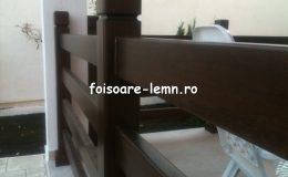 Balustrade lemn balcon 12
