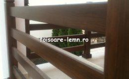 Balustrade lemn balcon 13