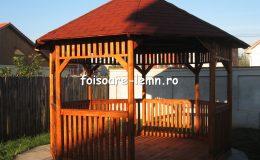 Foisor din lemn Bals 03