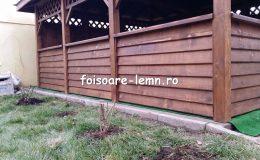 Foisor lemn schita 13
