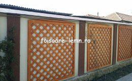 Gard decorativ din lemn 02