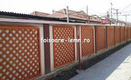 Gard decorativ din lemn 04