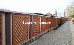 Gard decorativ din lemn 08