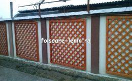Gard decorativ din lemn 11