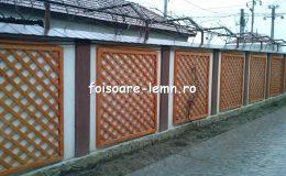 Gard decorativ din lemn 12