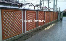 Gard decorativ din lemn 13