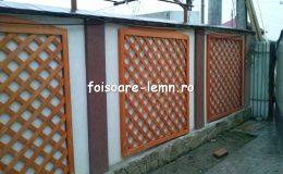 Gard decorativ din lemn 16