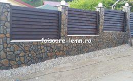 Gard din lemn Abelia 03