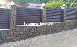 Gard din lemn Abelia 04