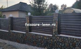 Gard din lemn Abelia 05
