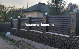 Gard din lemn Abelia 06