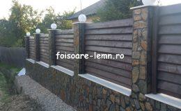 Gard din lemn Abelia 07