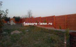 Gard din lemn Andora 01